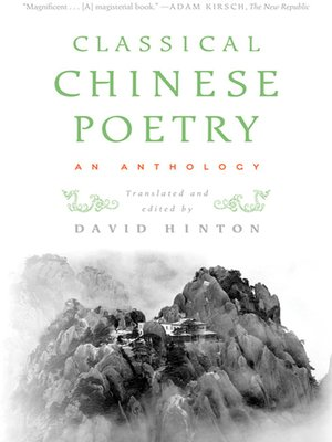 cover image of Classical Chinese Poetry