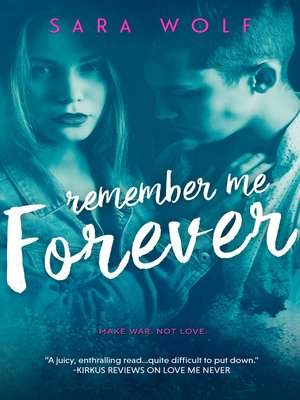 cover image of Remember Me Forever