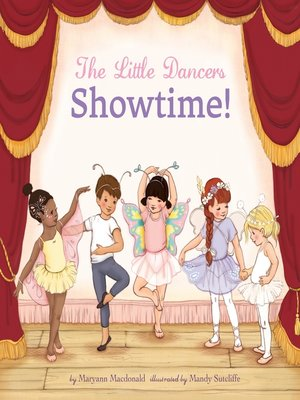cover image of The Little Dancers: Showtime!