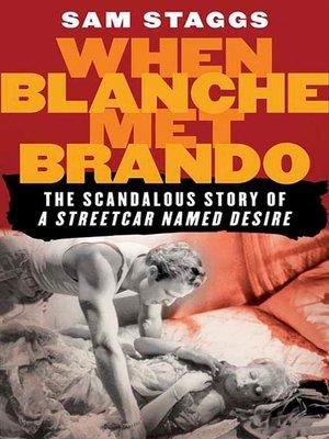 cover image of When Blanche Met Brando
