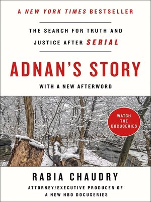 cover image of Adnan's Story
