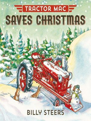 cover image of Tractor Mac Saves Christmas