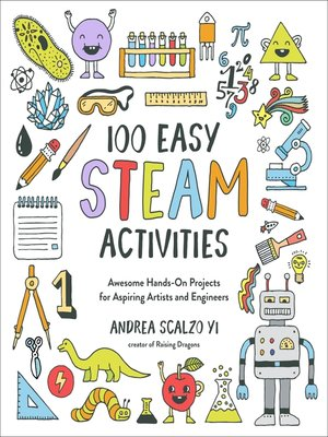 cover image of 100 Easy STEAM Activities