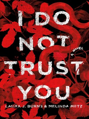 cover image of I Do Not Trust You