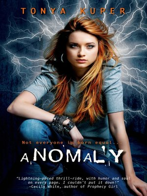 cover image of Anomaly