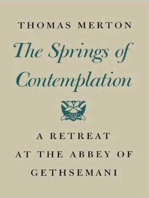 cover image of The Springs of Contemplation