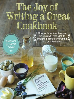 cover image of The Joy of Writing a Great Cookbook