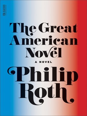 cover image of The Great American Novel