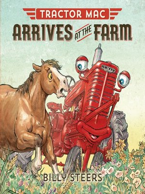 cover image of Tractor Mac Arrives at the Farm