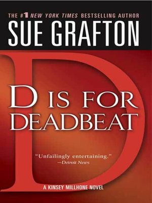 "cover image of ""D"" is for Deadbeat"