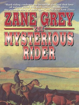 cover image of The Mysterious Rider