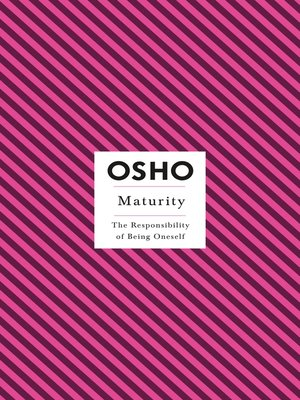 cover image of Maturity