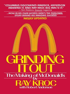 cover image of Grinding It Out