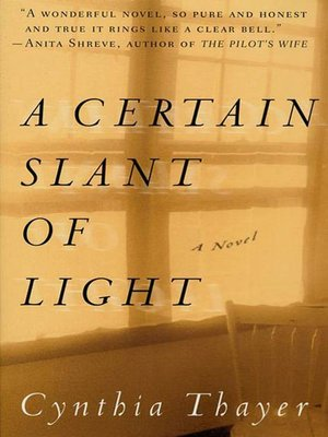 cover image of A Certain Slant of Light