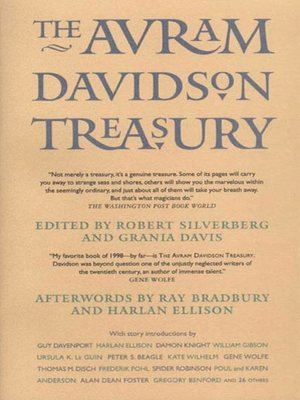 cover image of The Avram Davidson Treasury
