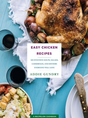 cover image of Easy Chicken Recipes