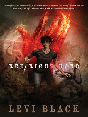 cover image of Red Right Hand--A Story of the Mythos War