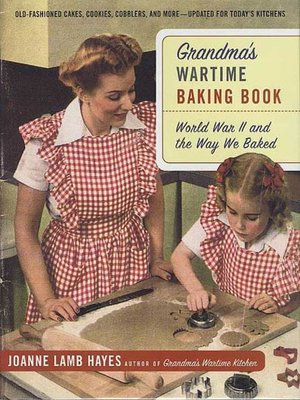 cover image of Grandma's Wartime Baking Book
