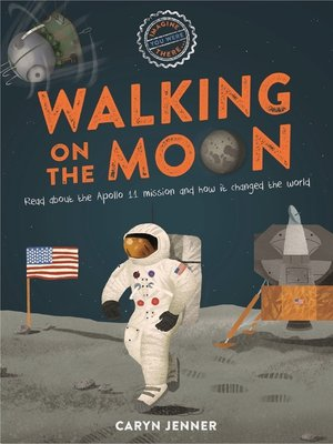 cover image of Imagine You Were There... Walking on the Moon