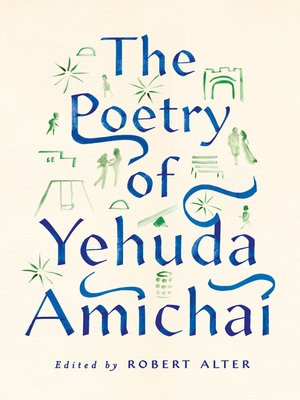 cover image of The Poetry of Yehuda Amichai