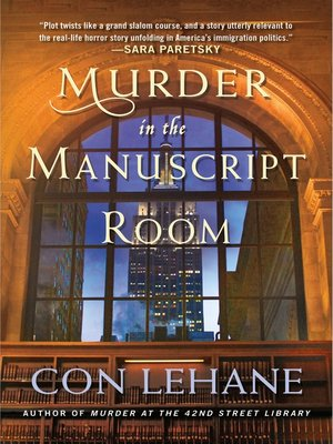 cover image of Murder in the Manuscript Room