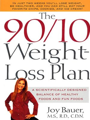 cover image of The 90/10 Weight-Loss Plan