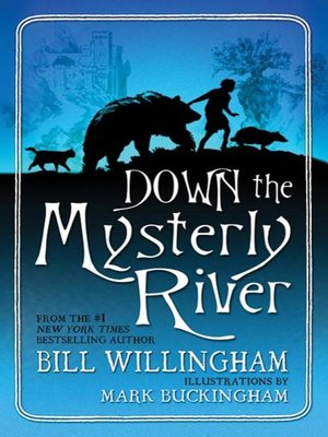 cover image of Down the Mysterly River