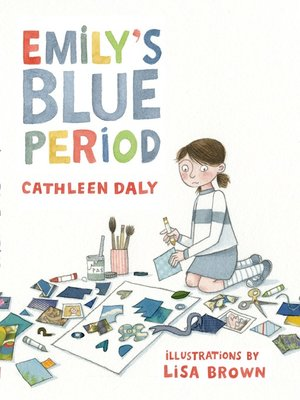 cover image of Emily's Blue Period