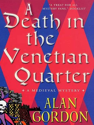 cover image of A Death in the Venetian Quarter