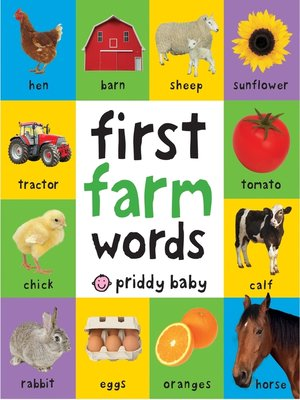 cover image of First 100 Padded--First Farm Words