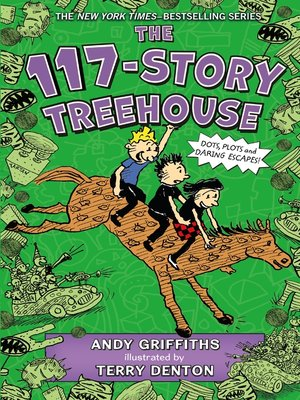 cover image of The 117-Story Treehouse
