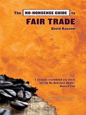 cover image of No-Nonsense Guide to Fair Trade