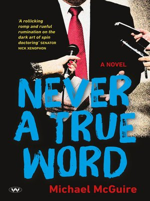 cover image of Never a True Word