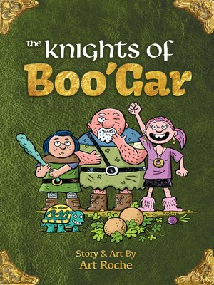 cover image of The Knights of Boo'Gar