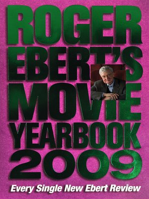 cover image of Roger Ebert's Movie Yearbook 2009