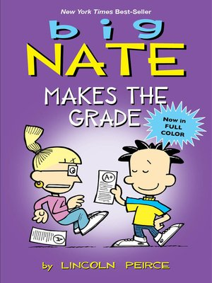 cover image of Big Nate Makes the Grade