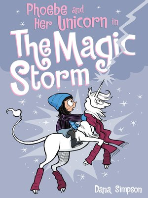 cover image of Phoebe and Her Unicorn in the Magic Storm