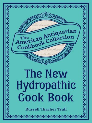 cover image of The New Hydropathic Cook Book
