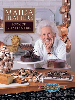 cover image of Maida Heatter's Book of Great Desserts