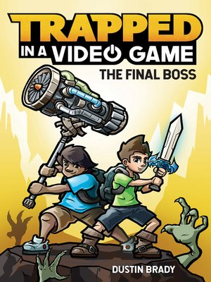 cover image of Trapped in a Video Game (Book 5)