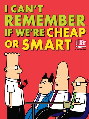 cover image of I Can't Remember If We're Cheap or Smart