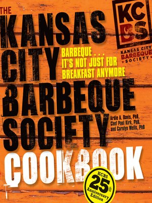 cover image of The Kansas City Barbeque Society Cookbook
