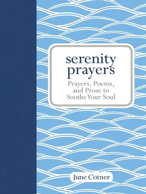 cover image of Serenity Prayers