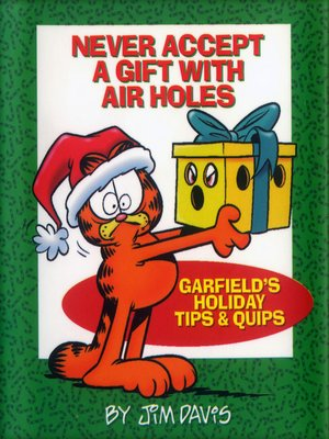 cover image of Never Accept a Gift with Air Holes