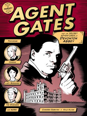 cover image of Agent Gates and the Secret Adventures of Devonton Abbey