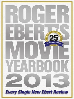 cover image of Roger Ebert's Movie Yearbook 2013