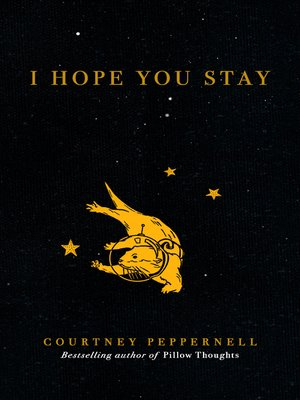 cover image of I Hope You Stay