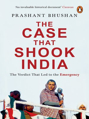cover image of The Case that Shook India