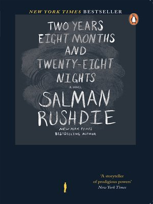 cover image of Two Years, Eight Months and Twenty-one Nights