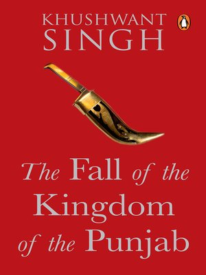 cover image of The Fall of the Kingdom of Punjab